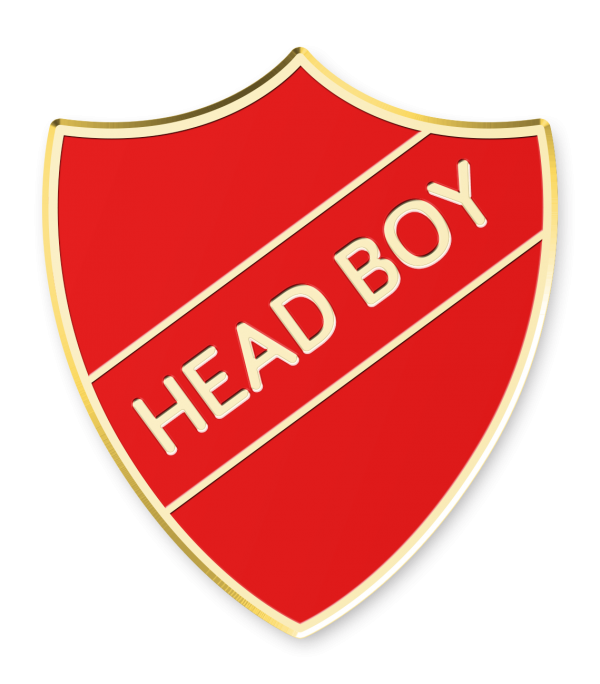 Head Boy Shield - Made by Cooper