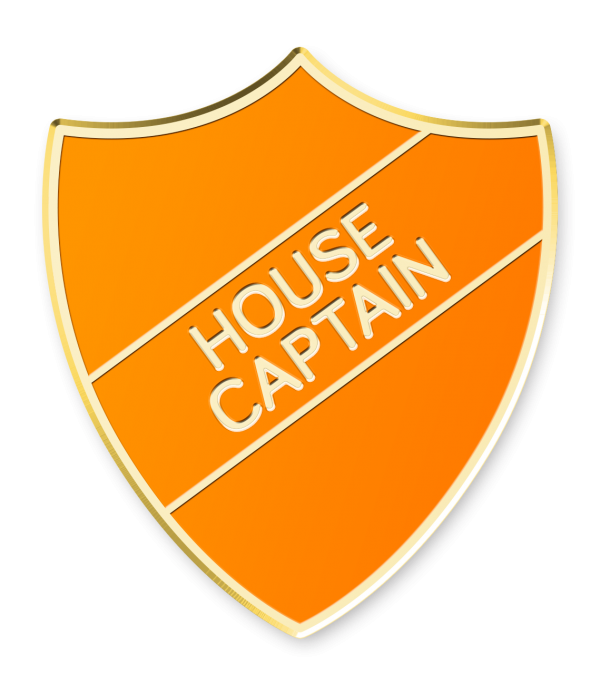 House Captain Shield Made By Cooper